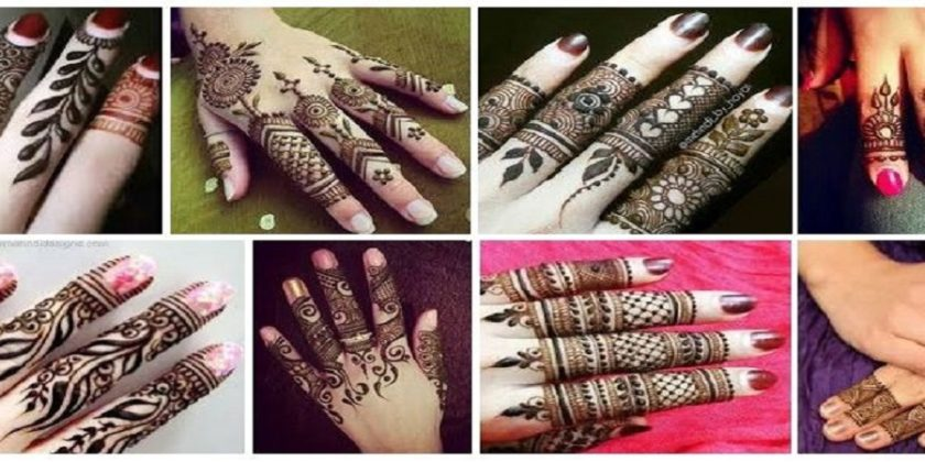 Best 15 Fashionable Finger Mehndi Designs With Images